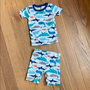 Carters shorts pajamas